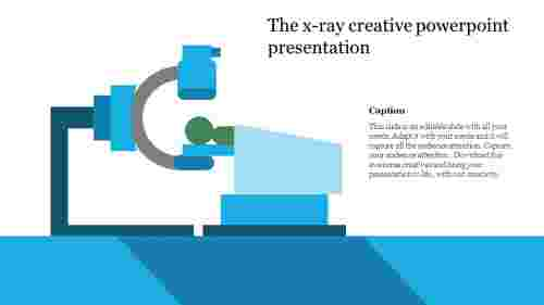 creative powerpoint presentation-The x-ray creative powerpoint presentation