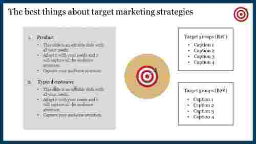 A two noded target marketing strategies
