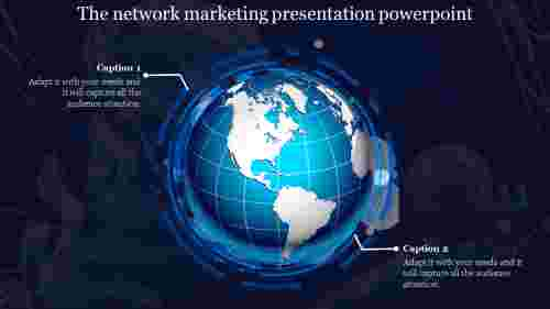 A two noded network marketing presentation powerpoint