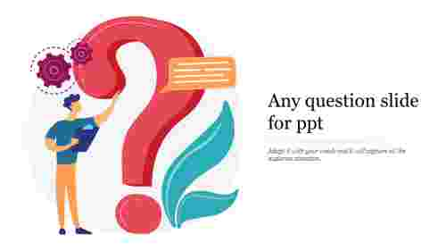 any question slide for ppt
