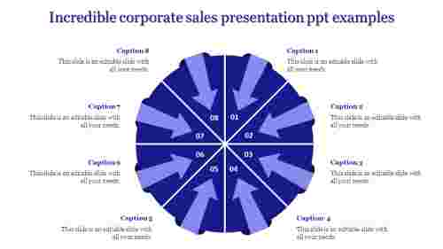 corporate sales presentation ppt-Incredible corporate sales presentation ppt examples-Blue