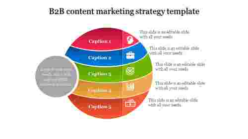 Content Marketing Strategy Template For Business