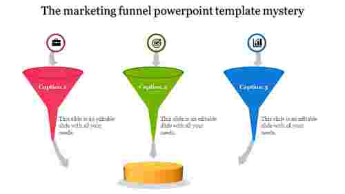 Marketing Funnel Powerpoint Template - Filter Model