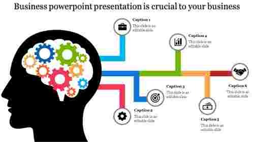A six noded business powerpoint presentation