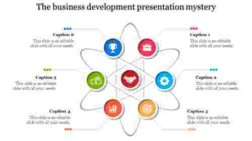 A six noded business development presentation