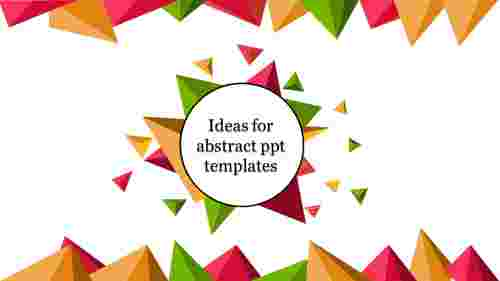 abstrct PPT template-background art