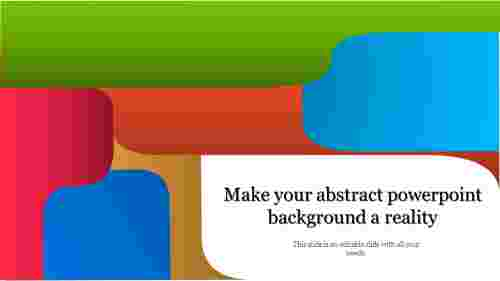 Colourful Abstract Powerpoint Background