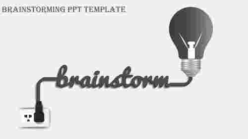 brainstorming ppt template-brainstorming ppt template-Gray