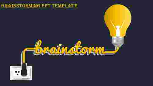 brainstorming ppt template-brainstorming ppt template