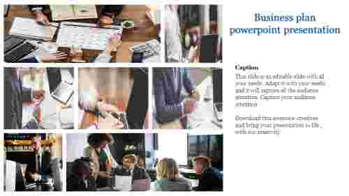 A one noded business plan powerpoint presentation