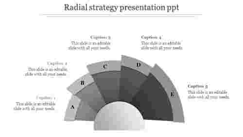 Simple strategy presentation PPT