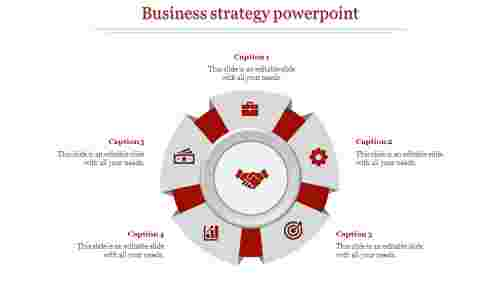 business strategy powerpoint-business strategy powerpoint-5-Red