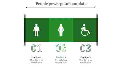 people powerpoint template-people powerpoint template-Green