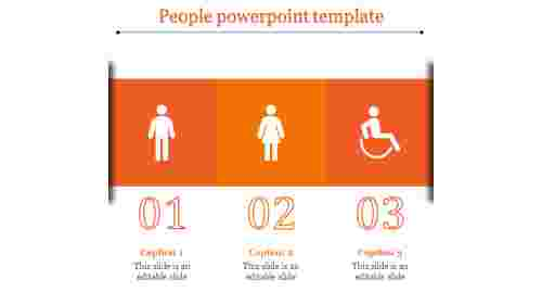 people powerpoint template-people powerpoint template-Orange