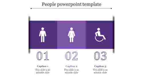 people powerpoint template-people powerpoint template-Purple