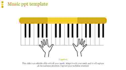 music ppt template-music ppt template-Yellow