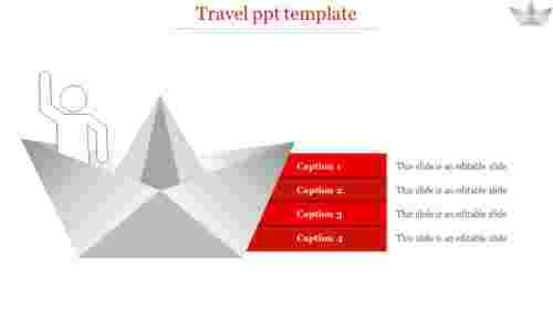 travel ppt template-travel ppt template-4-Red