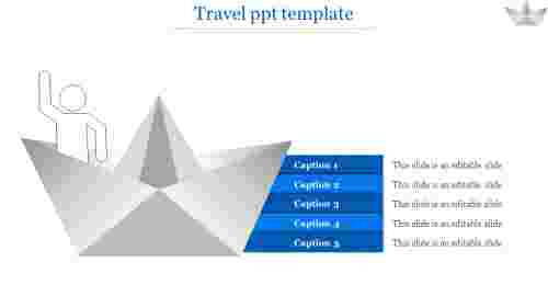 travel ppt template-travel ppt template-Blue