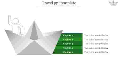travel ppt template-travel ppt template-Green
