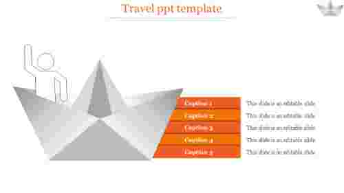 travel ppt template-travel ppt template-Orange