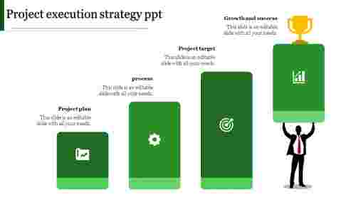 project execution strategy ppt-project execution strategy ppt-Green