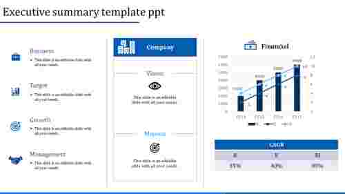 executive summary template ppt-executive summary template ppt-Blue