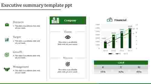 executive summary template ppt-executive summary template ppt-Green