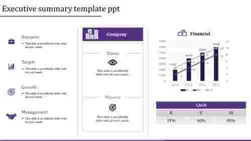executive summary template ppt-executive summary template ppt-Purple