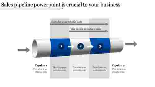sales pipeline powerpoint-Sales pipeline powerpoint is crucial to your business-Blue