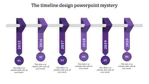 timeline design powerpoint-The timeline design powerpoint mystery-Purple