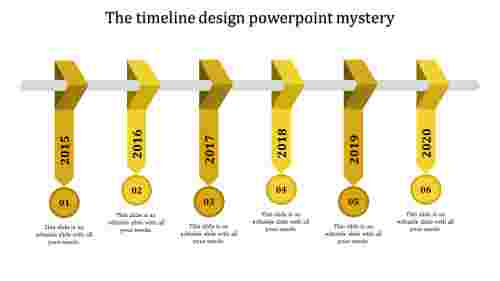 timeline design powerpoint-The timeline design powerpoint mystery-Yellow