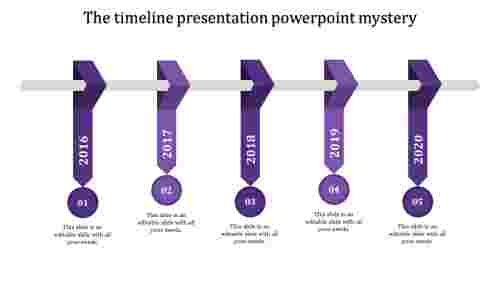 timeline presentation powerpoint-timeline presentation powerpoint-5-Purple