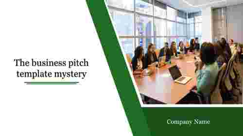 Business Pitch Template - Discussion