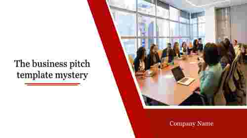Portfolio business pitch template
