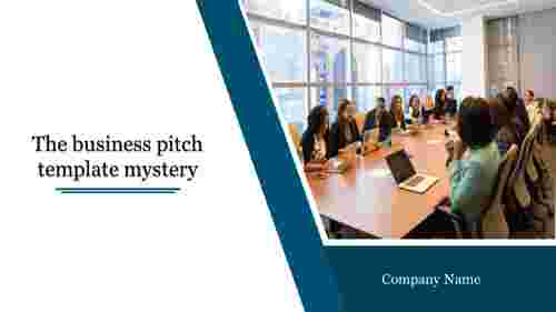 business pitch template in business meetings