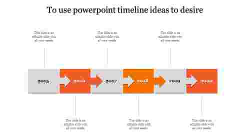 powerpoint timeline ideas-6-Orange