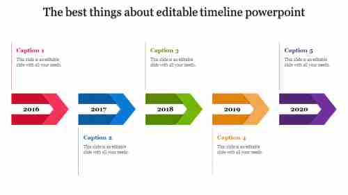 editable timeline powerpoint