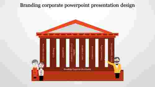 A eight noded branded corporate powerpoint templates
