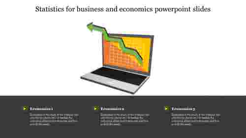 A three noded statistics for business and economics powerpoint slides