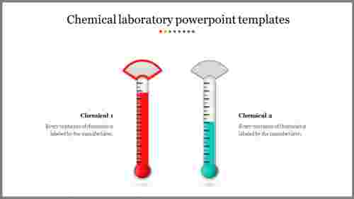 A two noded laboratory powerpoint templates
