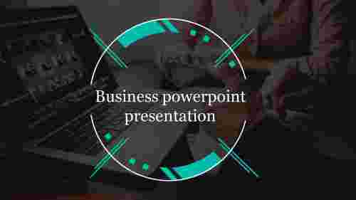A one noded Business powerpoint presentation