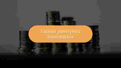 A one noded finance powerpoint presentation