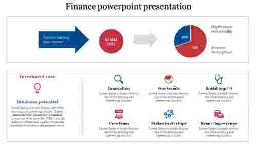 A six noded finance powerpoint presentation