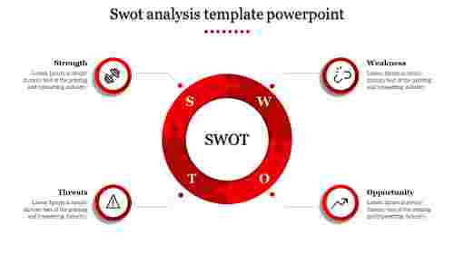 Mordern Swot Analysis Template Powerpoint