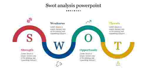 Swot Analysis Powerpoint Material Design