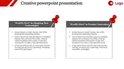 Business creative powerpoint presentation