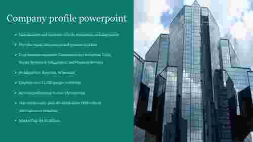 portfolio company profile powerpoint