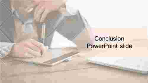 Conclusion Powerpoint For Company Presentation Slideegg