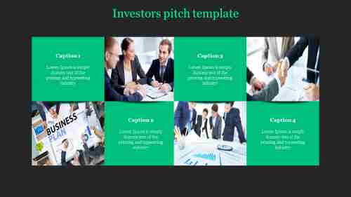Portfolio investor pitch template