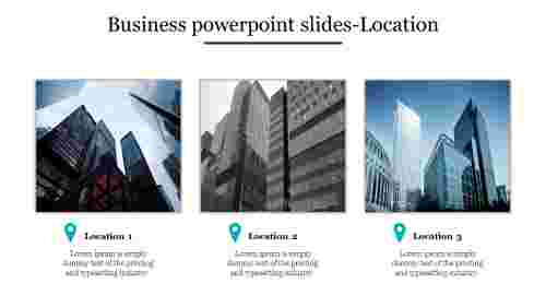 Business powerpoint slides-Location
